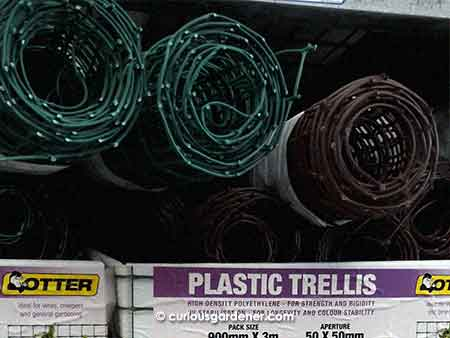 Materials to make a quick trellis (no I didn't get this)